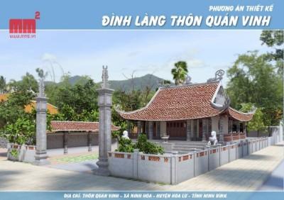 ĐÌNH LÀNG QUÁN VINH- Ninh Bình