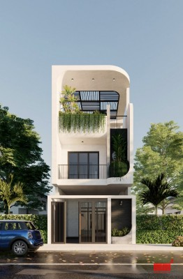 NANA HOUSE, mặt tiền 5m, phong cách ấn tượng