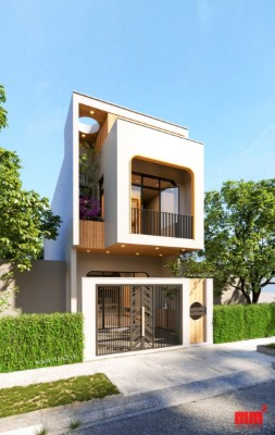 TRỊNH VI HOUSE, tnhà 2  tầng mặt tiền 5m