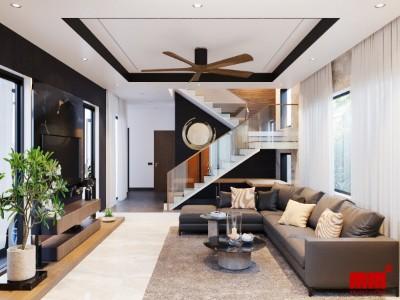 LÊ THƯỜNG HOUSE, biệt thự phố ánh sáng chan hòa không gian trong nhà
