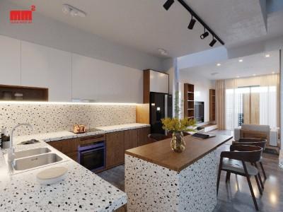 LONG HOUSE, mặt tiền 5m, không gian sống đúng nghĩa