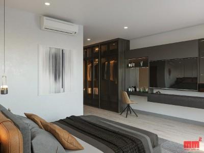 HOA HOUSE- 6.5m facade, concrete piles foundation,