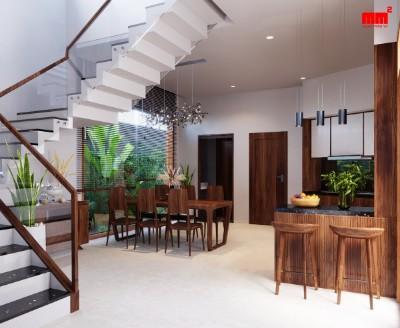 Biệt thự phong cách tân cổ, 2 tầng, mặt tiền 10m