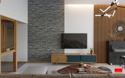 Thuận house thiết kế phong cách hiện đại