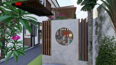 VY ANH VILLA- biệt thự phố hiện đại